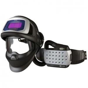 3M™ Speedglas™ Щиток защитный лицевой сварщика 9100 AIR со светофильтром 9100XX и блоком ADFLO
