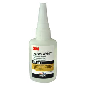 3M™ Scotch-Weld™ PR100 Клей Цианакрилатный, прозрачный, 20 г
